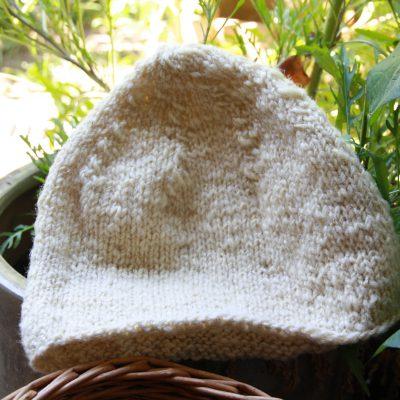 natürlich warme Mütze aus handgesponnenen Merino und Schafwolle. Individuell und Nachhaltig.
